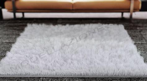 tappeto peloso per interni modellazione 3d e rendering