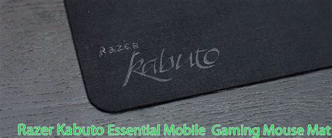 Razer Sphex Essential Gaming Mouse Mate หน าท 1 razer kabuto mobile essential gaming mouse mat vmodtech review overclock