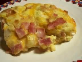 easy baked ham n egg casserole recipe food com