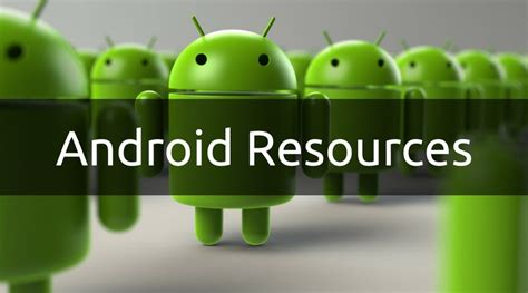android tutorial in w3schools android resources step by step tutorial android