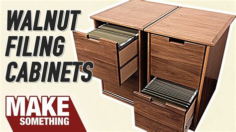 filing cabinet easy woodworking project