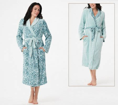 casa zeta jones robe casa zeta jones reversible velvet soft signature rose robe
