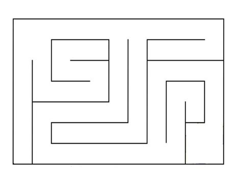 printable sewing maze marble maze pattern craft printables and templates
