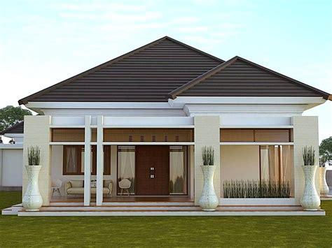 desain rumah minimalis type  modern tampak depan rumah