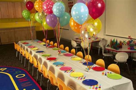 kids birthday party decoration ideas at home beautiful table decoration for a kids birthday party how