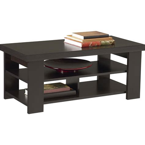 walmart table ls prices coffee table ameriwood home jensen coffee table espresso