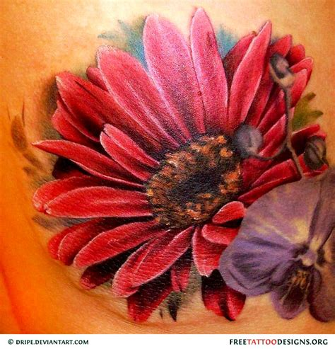 big flower tattoos designs flower gallery 70 flower designs