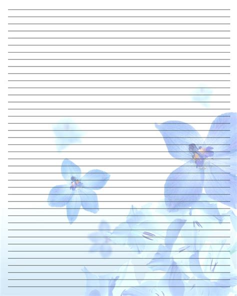 8 Best Images Of Printable Writing Paper Free Printable Printable Paper