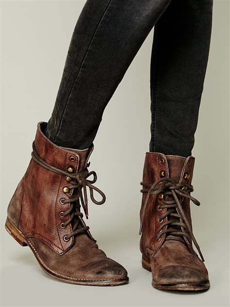 lace up boot free fp collection womens truemay lace up boot in