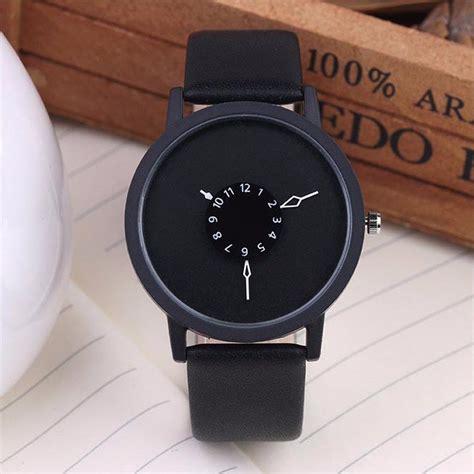 Jam Tangan Wanita Cewek 27 jam tangan wanita unique black jakartanotebook
