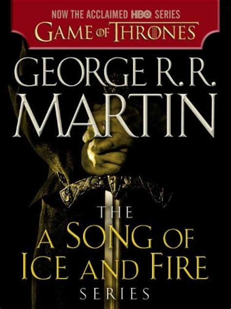 Love Reading Now George R R Martin S A Game Of Thrones
