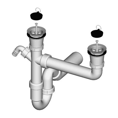 Sink Connection sink trap for sink with connection