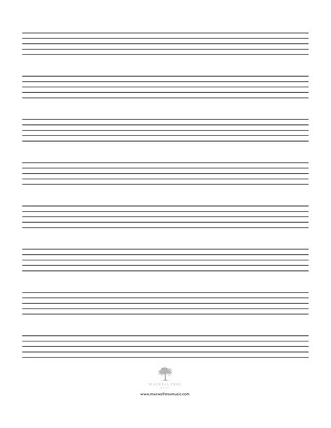 online printable staff paper maxwell tree music jazz charts big band charts