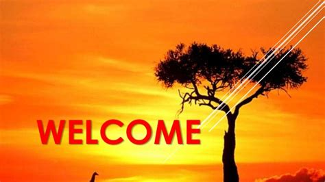 welcome slides for ppt presentation power point presentation