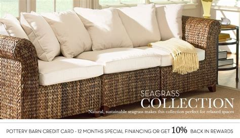 seagrass sofa seagrass sofa pottery barn tropical island decor
