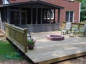 deck designs with fire pit fire pit design ideas
