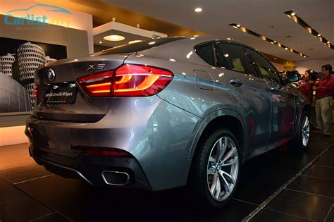 bmw x6 price in malaysia locally assembled 2015 bmw x6 launched in malaysia from
