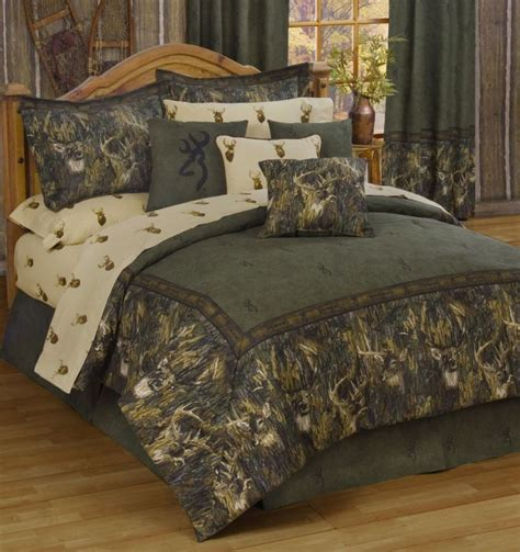 outdoor themed bedding hunting themed bed sets design ideas classic 3d detail