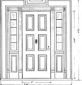 draw front door