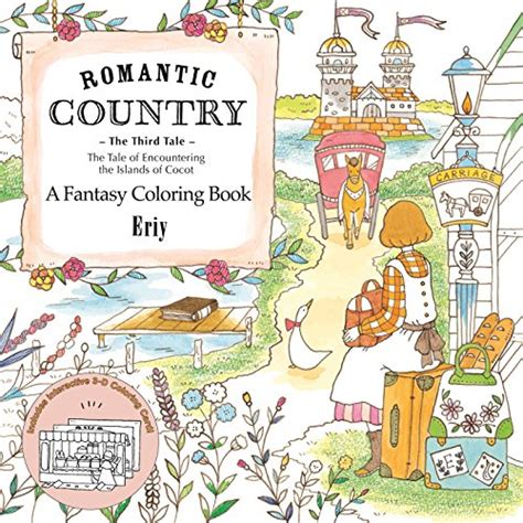 romantic country a fantasy 1250094461 romantic country the third tale a fantasy coloring book import it all