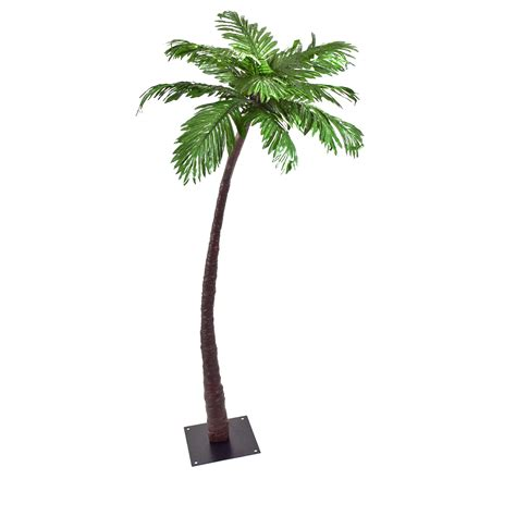 Led Lighted Palm Tree Artificial 5 Feet Lighted Trees Artificial