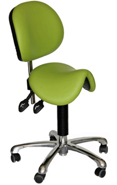 Saddle Chair With Backrest by Dental Saddle Seat With Backrest Dental Stools