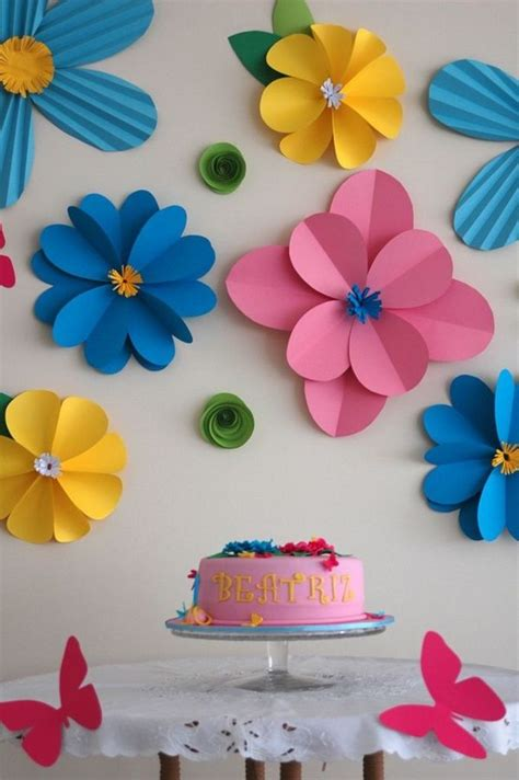 Useful Paper Crafts - 50 creative and useful paper flower ideas flower ideas