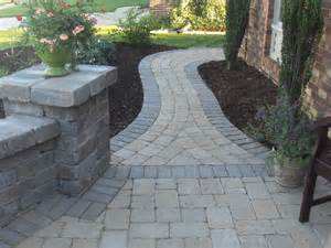 Design Ideas For Brick Walkways Paver Walkways
