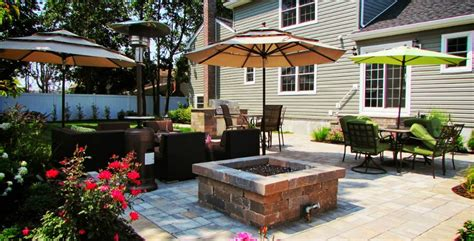 outdoor grill patio gas firepit