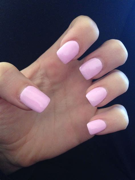 Acryl Nail by Light Pink Acrylic Nails Fresh Claws