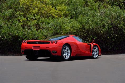 ferrari enzo 2003 ferrari enzo with 151 miles headed to mecum s