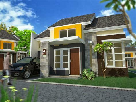 Desain Rumah Type 60   contoh model desain rumah minimalis type 60 idea rumah