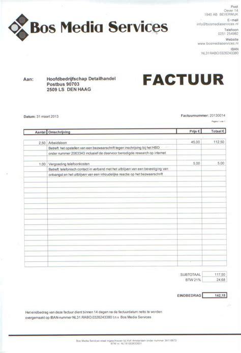Voorbeeld Uren Factuur Zzp En auto factuur maken cv voorbeeld 2018