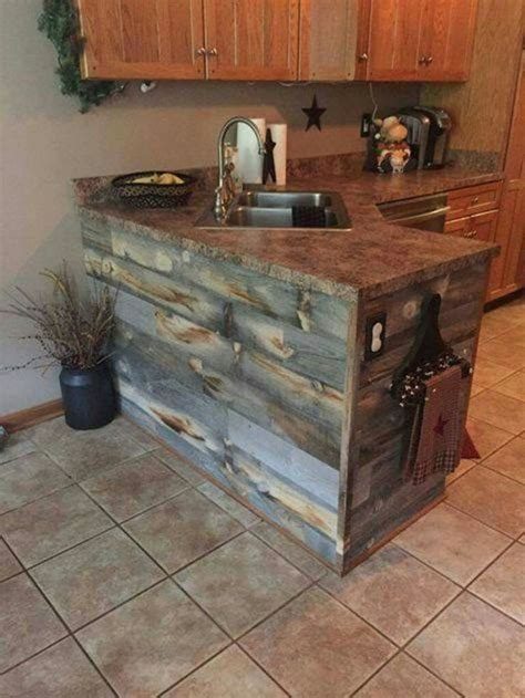 rustic kitchen furniture 25 best ideas about pallet kitchen cabinets on