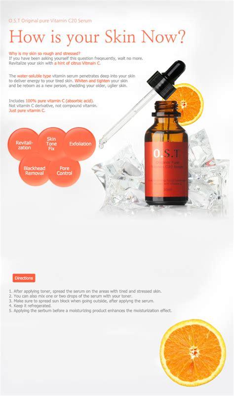 Serum Ost ost c 20 original vitamin c20 serum 30ml ascorbic