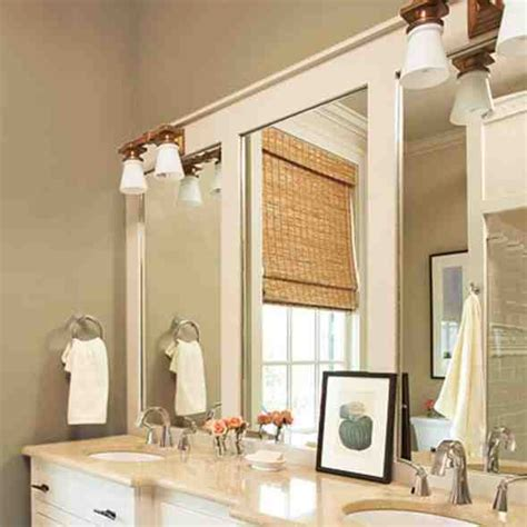 Diy Bathroom Mirror Frame Ideas Decor Ideasdecor Ideas Diy Bathroom Mirror Ideas