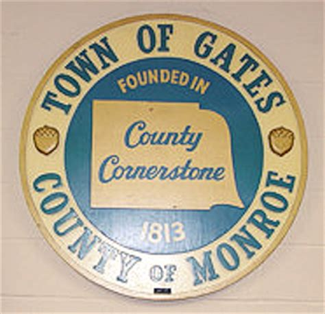 Genesee County Marriage License Records Gates Town History Town Of Gates