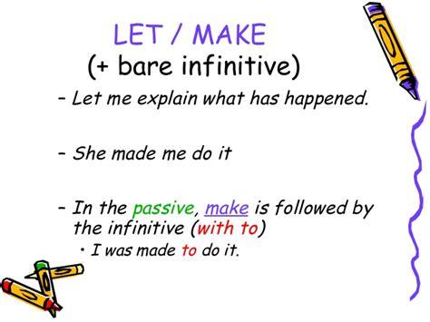 verb pattern fail verb patterns