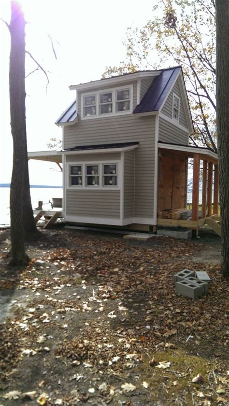 chalet home plans vt two story tiny cabin on butler island in vermont
