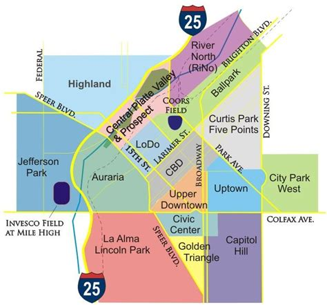 colorado springs subdivisions map denver co the fresh find