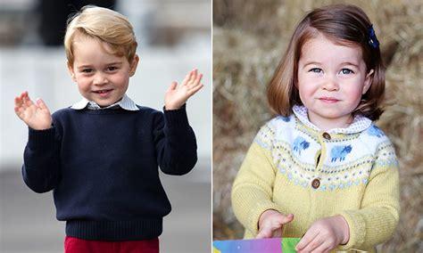 prince william kate middleton take princess charlotte prince george and princess charlotte joining william and