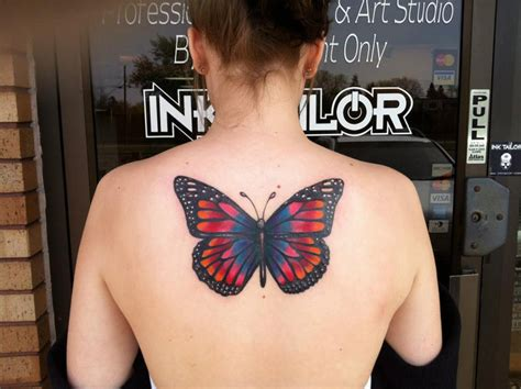 butterfly back tattoos butterfly back best design ideas