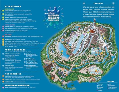 blizzard map blizzard map disney maps brochures disney parks and resorts