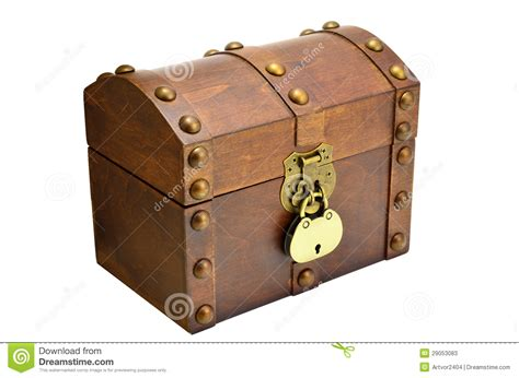 the in the chor trunk an blanc mystery books coffre en bois avec le blocage photos stock image 29053083