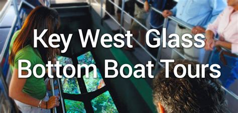 glass bottom boat tours in key west key west glassbottom boat tours best on key west