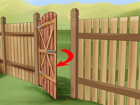 The Gate Of Your how to build a wooden gate 13 steps with pictures wikihow