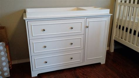 baby changing table dresser white changing table dresser diy projects