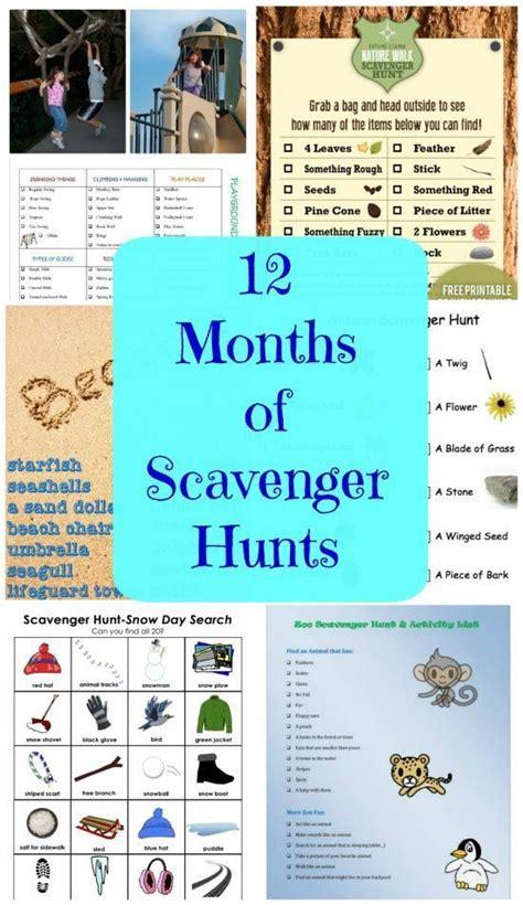 Backyard Scavenger Hunt For by 17 Best Ideas About Scavenger Hunts On