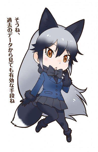silver friends silver fox kemono friends zerochan anime image board