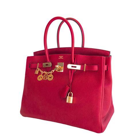 hermes birkin bag 35cm casaque lipstick clemence